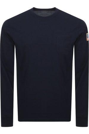 Alpha Industries Long Sleeve NASA T Shirt