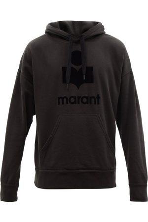 Isabel Marant Miley Logo-print Cotton-blend Hooded Sweatshirt - Mens