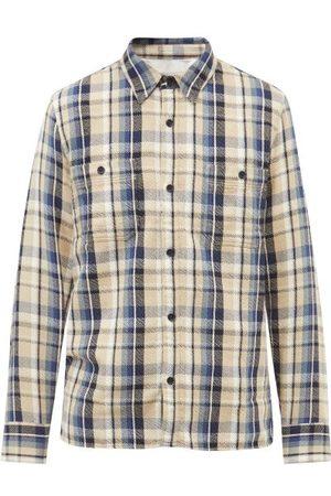 OFFICINE GENERALE Men Shirts - Ahmad Check Cotton Shirt - Mens - Multi