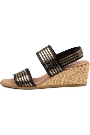 DJANGO & JULIETTE Women Heeled Sandals - Bloomup Dj & Blac Sandals Womens Shoes Casual Heeled Sandals