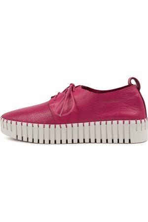 Django & Juliette Women Casual Shoes - Batu Dj Fuchsia Sole Sneakers Womens Shoes Casual Casual Sneakers