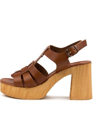 MOLLINI Women Heeled Sandals - Ceepers Mo Tan Sandals Womens Shoes Heeled Sandals