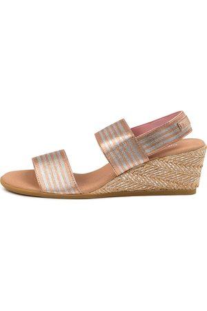 Django & Juliette Women Heeled Sandals - Bloomup Dj Rose & Rose Sandals Womens Shoes Casual Heeled Sandals