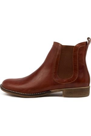 Django & Juliette Women Ankle Boots - Cryptics Dj Chestnut Boots Womens Shoes Casual Ankle Boots