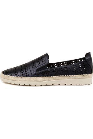 DIANA FERRARI Aymah Df Navy Metallic Shoes Womens Shoes Casual Flat Shoes