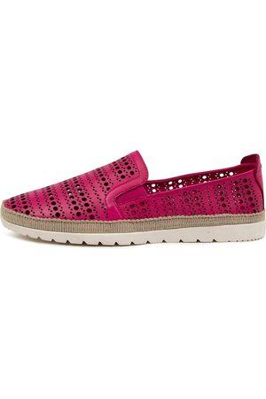 DIANA FERRARI Women Casual Shoes - Aymah Df Fuchsia Shoes Womens Shoes Casual Flat Shoes