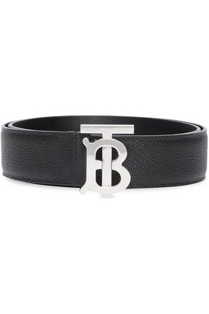Burberry Men Belts - Monogram-buckle belt