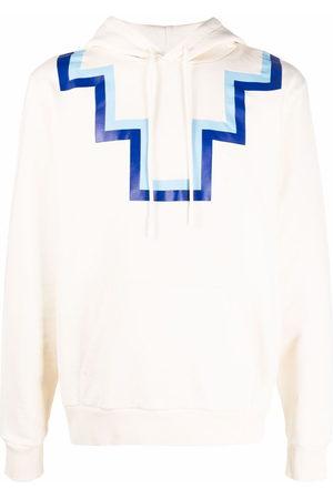 MARCELO BURLON Rural cross hooded sweatshirt