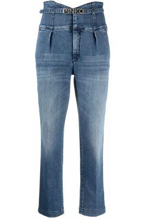 Pinko Ariel high-waisted jeans