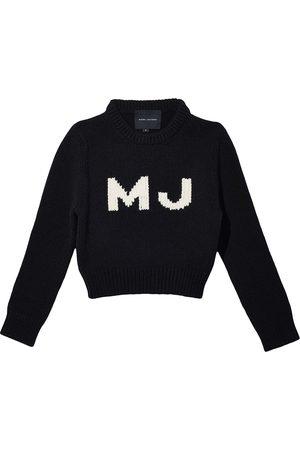 Marc Jacobs The Shrunken Sweater intarsia logo jumper