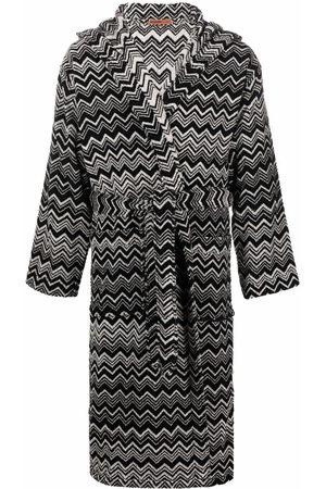 Missoni Striped tie-fastening robe