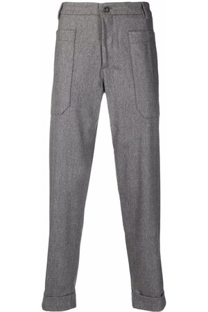 ELEVENTY Mid-rise slim-fit trousers