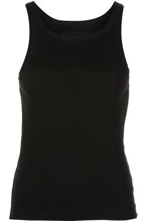 NILI LOTAN Ribbed cotton vest top