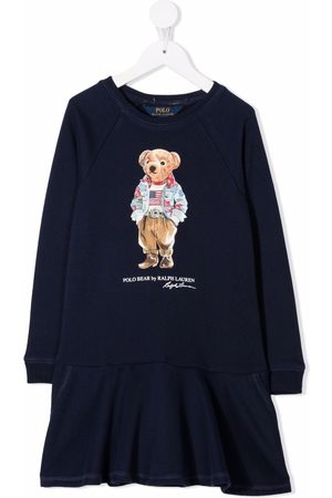 Ralph Lauren Polo Bear print dress