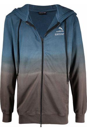 MAUNA KEA Gradient-effect zip-up hoodie