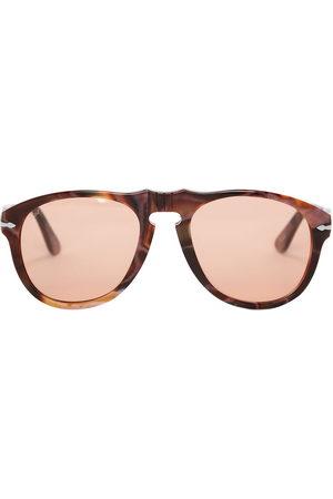 J.W.Anderson Sunglasses - X Persol aviator-frame logo sunglasses