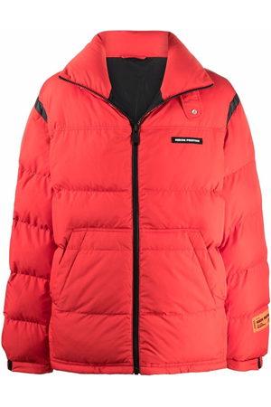 Heron Preston Logo patch padded jacket