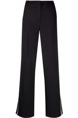 Karl Lagerfeld Striped flared trousers