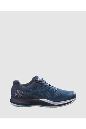 Wilson Women Sneakers - Rush Pro 3.5 Tennis Shoes Women's - Training (Majolica , Outer Space & ) Rush Pro 3.5 Tennis Shoes - Women's