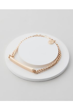 Chained & Able Flat Curb ID Bracelet - Jewellery Flat Curb ID Bracelet