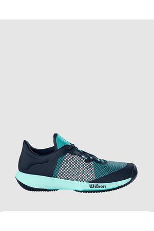 Wilson Kaos Swift Tennis Shoes Women's - Training (Outer Space, Aruba & Soothing Sea) Kaos Swift Tennis Shoes - Women's
