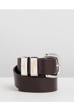 R.M.Williams Men Belts - Jerrawa Belt - Belts (Chestnut) Jerrawa Belt