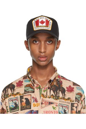 Dsquared2 Embroidered Patch Baseball Cap