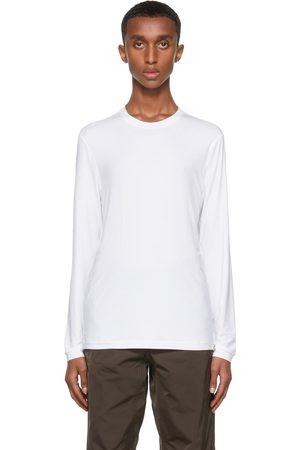 Giorgio Armani Men Long Sleeve - Stretch Bamboo-Viscose Jersey T-Shirt