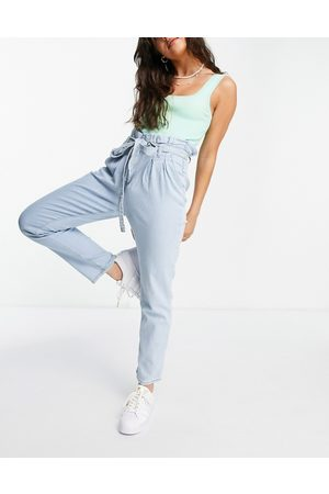 In The Style X Jac Jossa paper bag waist jeans in
