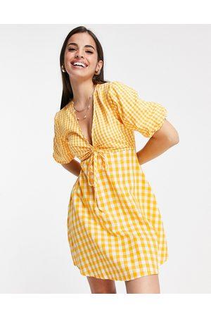 Influence Mini tea dress in gingham