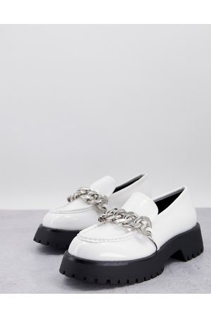 ASOS DESIGN Mai chunky chain loafers in