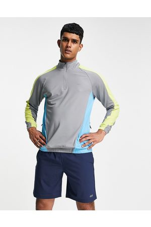 ASOS 4505 track sweatshirt with 1/4 zip in poly tricot
