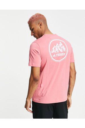 adidas performance Adidas Terrex Mountain GFX T-shirt in