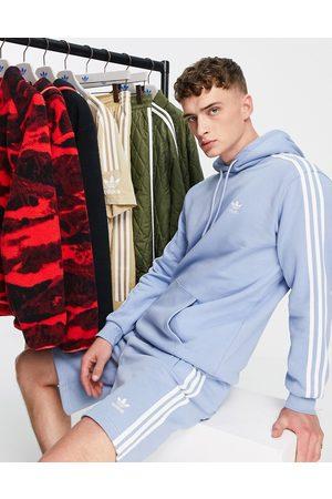 adidas Originals Adicolor three stripe hoodie in