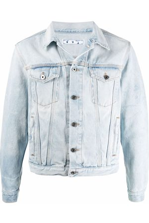 Off-White Arrows-print denim jacket