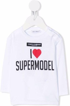 Dolce & Gabbana I Love Supermodel T-shirt