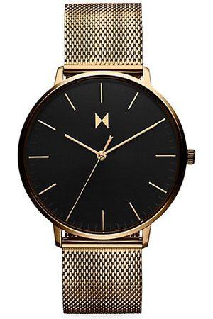 MVMT Men Watches - Legacy Slim Lion Gold Stainless Steel Watch