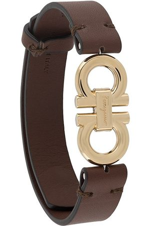 Salvatore Ferragamo Men Bracelets - Double-sided Gancini bracelet