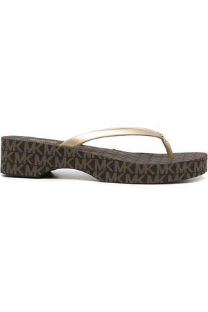 Michael Kors Women Thongs - Lilo platform flip-flops