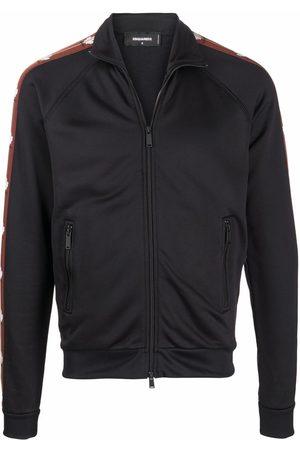 Dsquared2 Logo zipped bomber jacket
