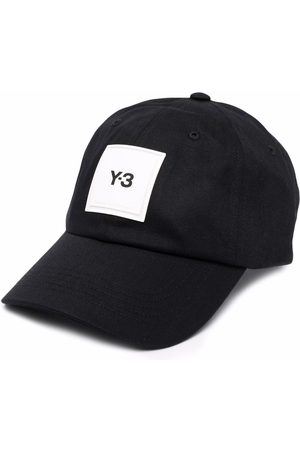 Y-3 Men Caps - Logo-patch cap
