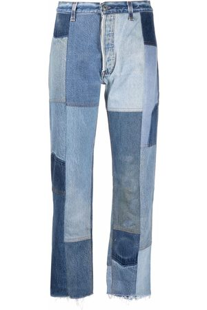 RE/DONE 70 high-rise cropped jeans