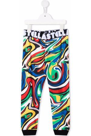 Stella McCartney Graphic-print elasticated-waistband trousers