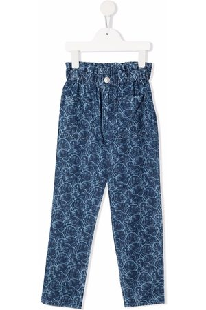 Kenzo All-over animal-print jeans