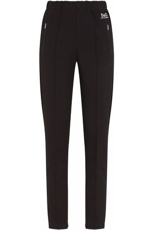 Dolce & Gabbana Women Joggers - Full Milano logo track pants