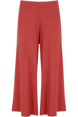 Lygia & Nanny Women Wide Leg Pants - Flared cropped trousers