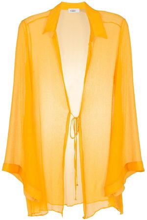 AMIR SLAMA Women Beach Dresses - Silk beach dress