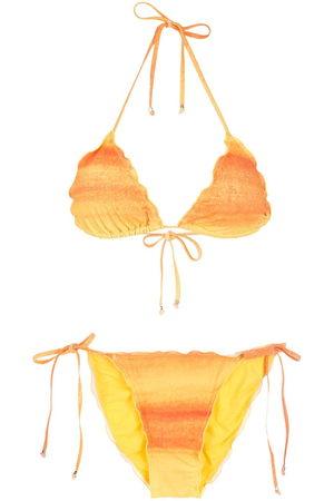 AMIR SLAMA Women Bikinis - Gradient bikini set