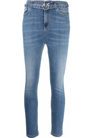 Pinko Women Jeans - Love-belt skinny jeans