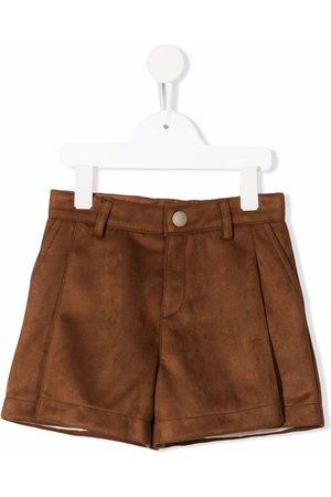 Chloé Girls Shorts - Faux-suede shorts